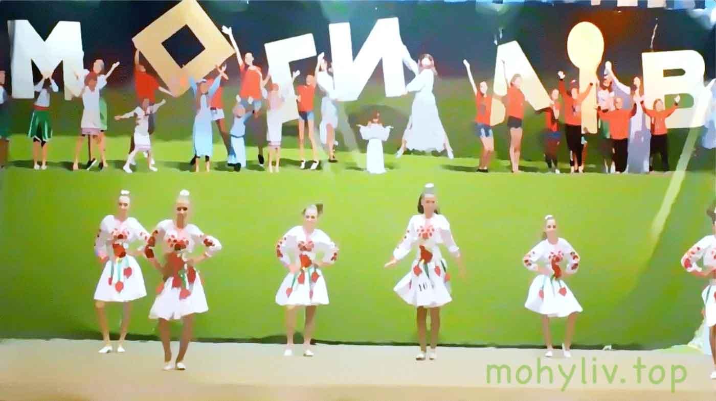 Запальні дівчата з Карпівки. Elementrix. «Маруся». Могилів DANCE FEST. Відео