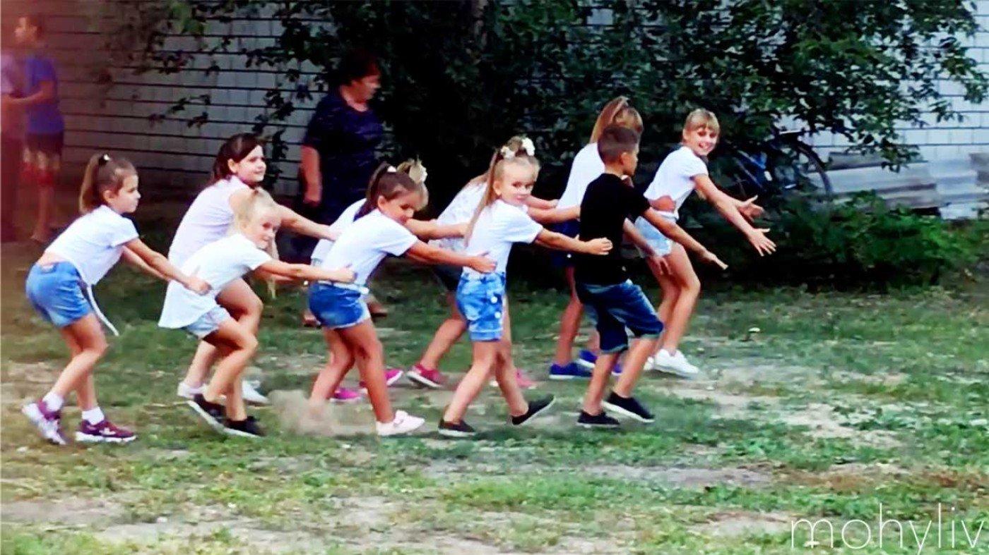Дитячий танок на День Незалежності. Відео